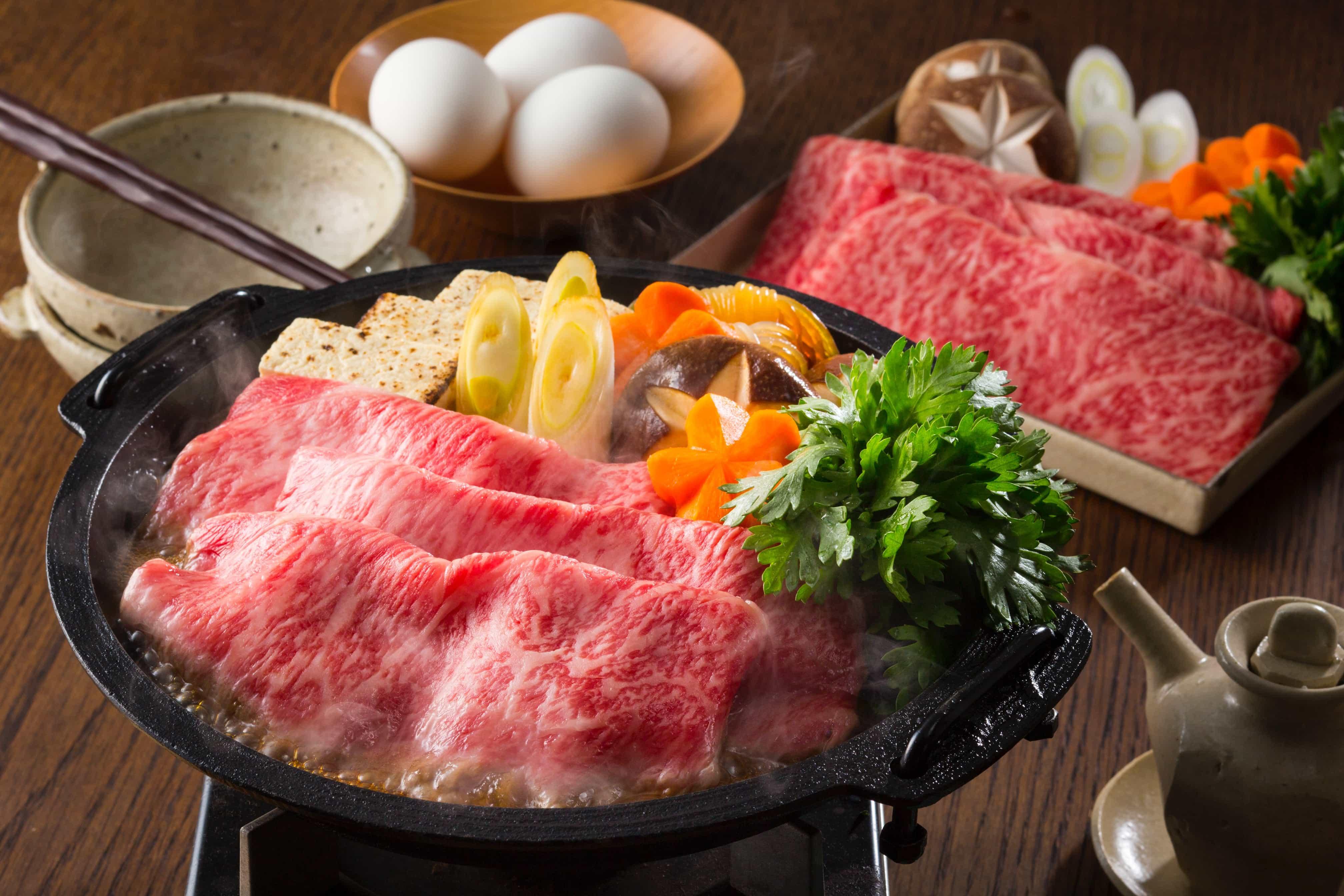 A3 wagyu beef shabu shabu steamboat
