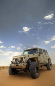 Jeep Gobi Desert